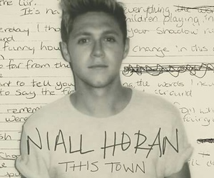 niall horan, this town, and one direction image