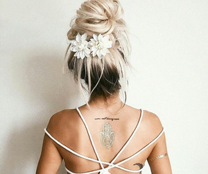 classy, girly, and hair image