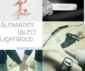 alexander, bow and arrow, and jace image