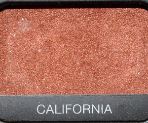 california, red, and makeup image