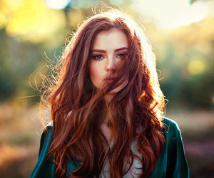 art, photography, and redhead image