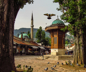 sarajevo and travel image