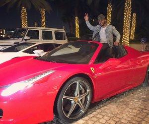 Dubai, ferrari, and adam saleh image