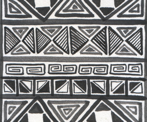 black and white, tribal, and love image