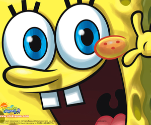 funny, yellow, and smile image