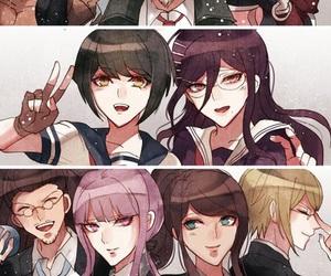 anime and danganronpa image