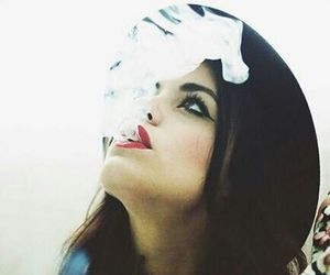 lucy hale, smoke, and pretty little liars image