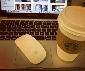 cafe, favorite, and macbook image