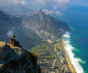 travel, beach, and brazil image