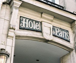 paris, hotel, and vintage image