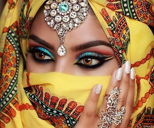 beautiful, makeup, and style image