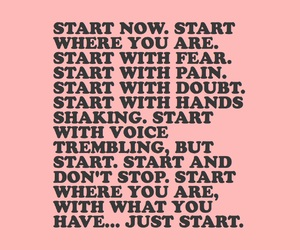quotes, motivation, and pink image