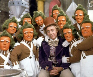 Willy Wonka and oopma loompas image