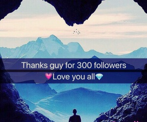 follower and 300 followers image