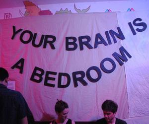 grunge, brain, and aesthetic image