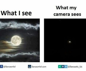 funny and moon image