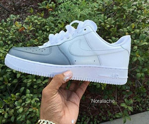 nike, sneakers, and nike air force image