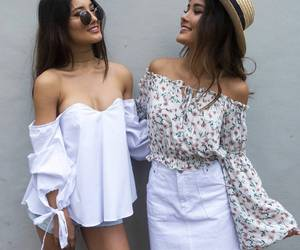 besties, clothes, and outfit image