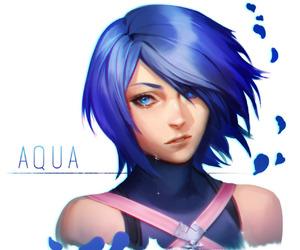 aqua and kingdom hearts image