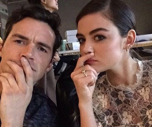 lucian, pretty little liars, and lucy hale image