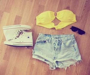 converse, shorts, and summer image