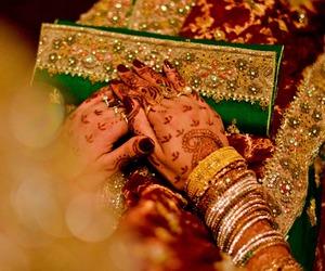 bride, hindi, and pakistani image