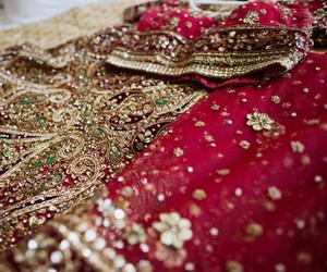 bride, fabric, and hindi image