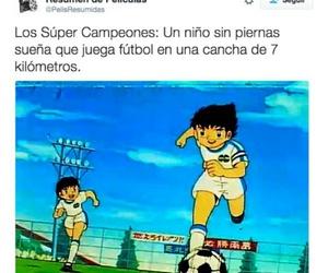 jaja, triste, and super campeones image