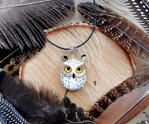 owls, handmade owl, and gift for her image