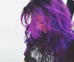 andrea russett and purple hair image