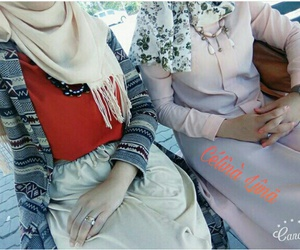 friend+, hijab+, and حجاب image