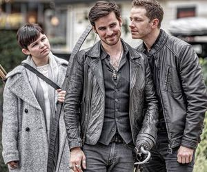 cast, once upon a time, and snow image
