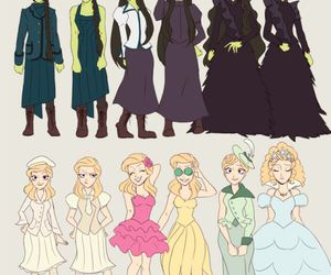 glinda, wicked, and elphaba image