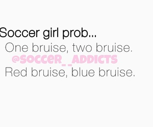 funny, soccer, and soccergirls image