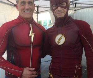the flash, jay garrick, and grant gustin image