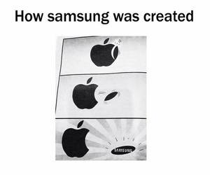 apple and samsung image