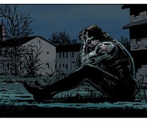 bucky, comics, and Marvel image