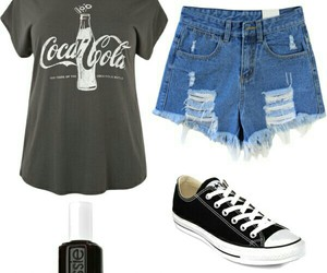 coca cola, look, and outfits image