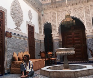 morocco and travel image