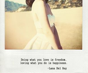 lana del rey, quote, and happiness image
