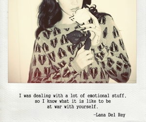 lana del rey and quote image