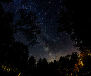 night, infp, and sky image