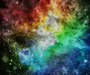 amarelo, arco-iris, and black image