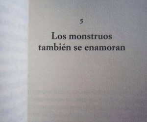 love, monster, and book image