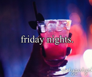 friday, party, and night image
