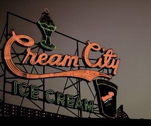 city and ice cream image