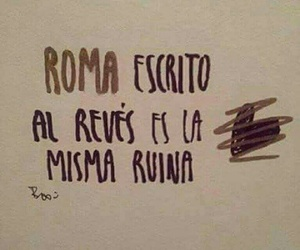 love, roma, and frases image