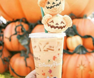 autumn, disney, and pumpkin image