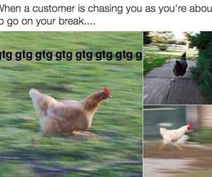 break, bye, and Chicken image