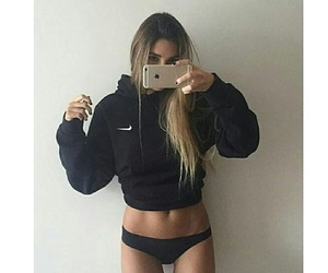 abs, fashion, and nike image